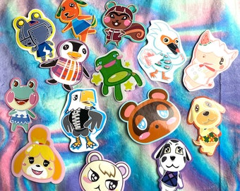 Animal Crossing Stickers
