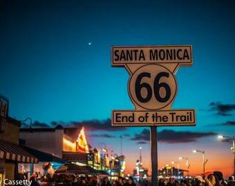 Santa Monica Print