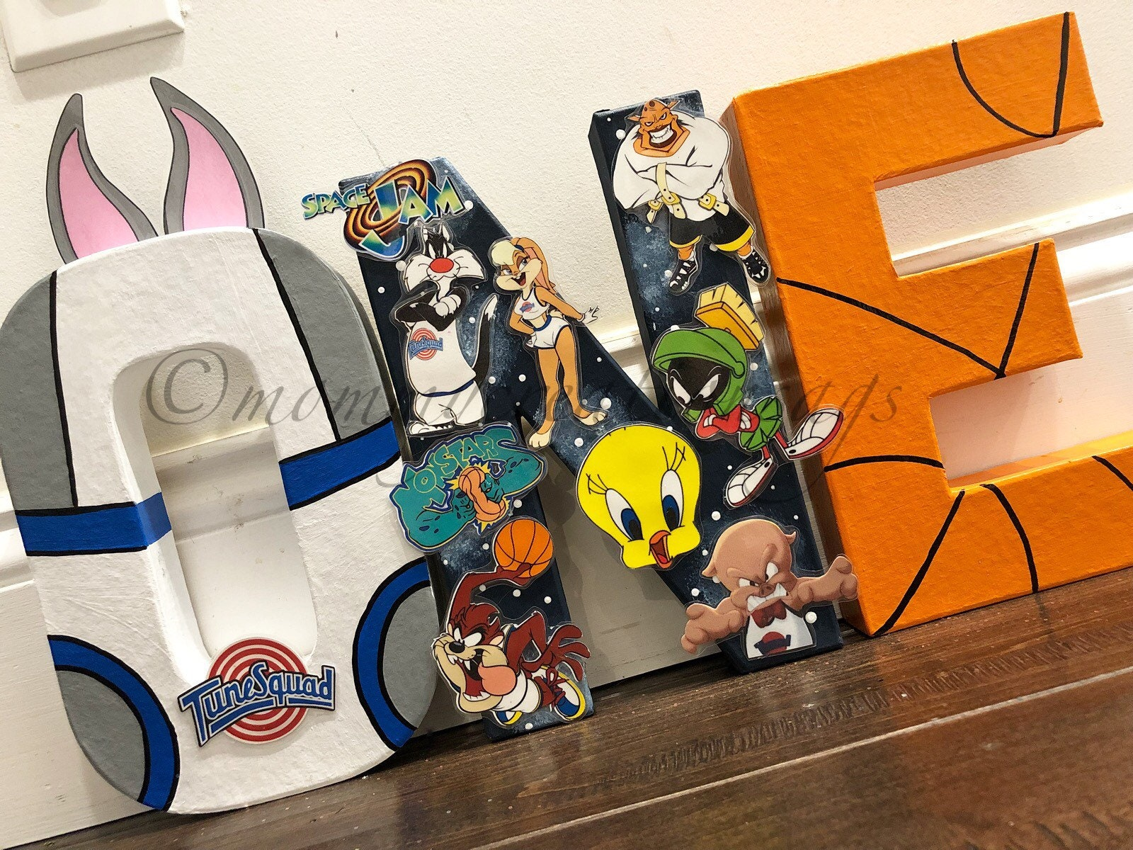 Space Jam Party Space Jam Letters Space Jam Decorations Etsy