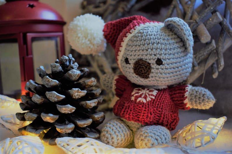 Amigurumi Natale.Christmas Decoration Amigurumi Christmas Christmas Doll Pupazzo Natale Decorazioni Natalizie
