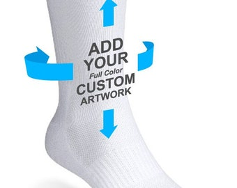 Custom Socks Free Personalization Add Your Logo Or Pictures