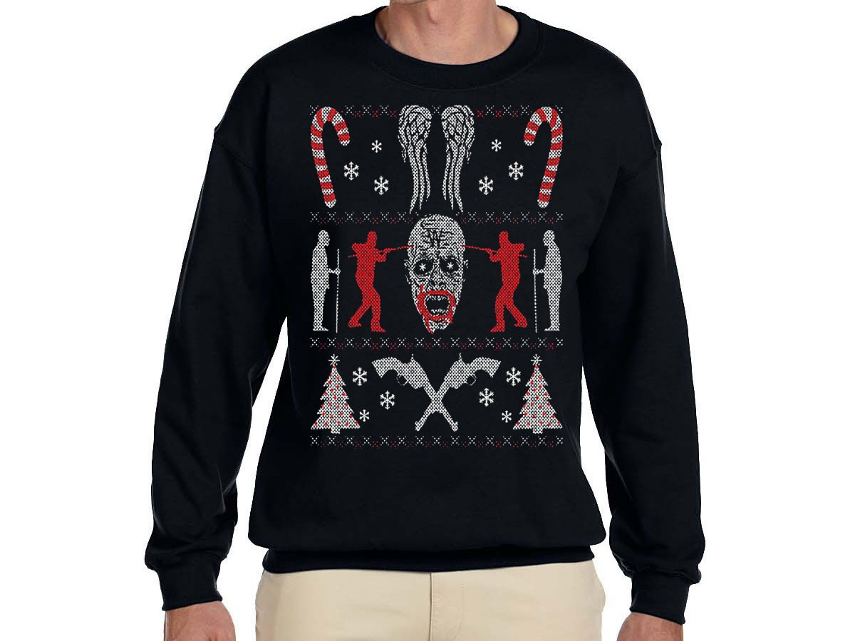 Christmas Ugly Sweater Zombie/Candy-cane | Etsy