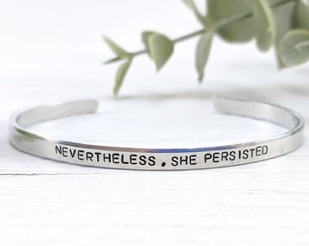 Sterling Silver Faith Motivational Inspirational Quote Stackable Ring Sizes 4-15