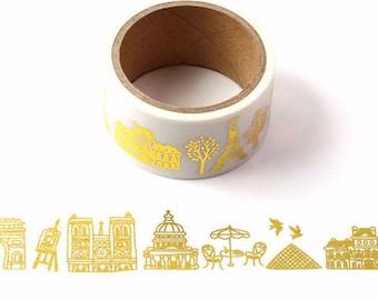 40mm x 8m  Egypt Landmarks Washi Tapes city Washi TapeDecorative Stickers  Masking tape japanese washi tapePlanner SuppliesOT095