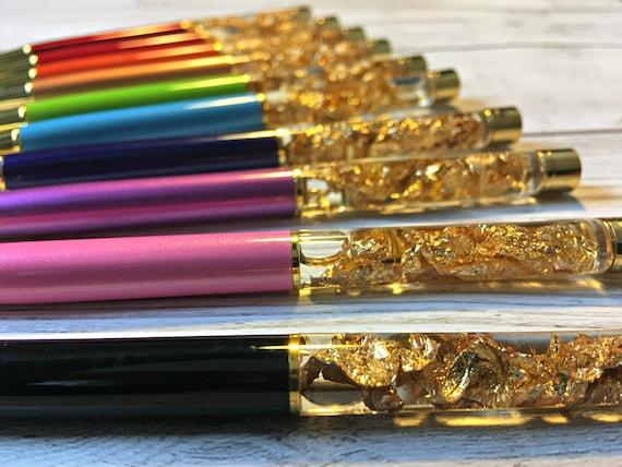 Gold Pen Glitter Pen Bullet Journal Supplies Wedding Pen