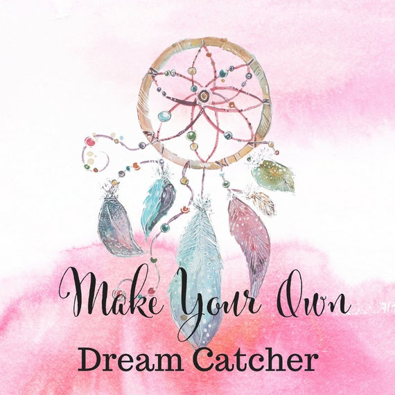 What Do Dream Catchers Do Gorgeous Make Your Own Adult Craft Kit Dream Catcher Dreamcatcher Etsy