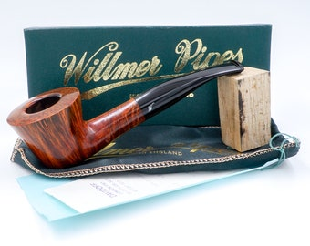 New Old Stock UNSMOKED - Willmer Pipes - Straight Grain - 1995 - SATXpipe