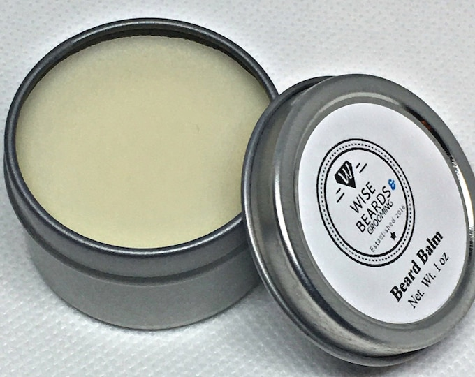 Beard Balm - Natural Beard and Grooming Products - Wise Beards & Grooming - Premium Grade Beard Balm - Men's Care