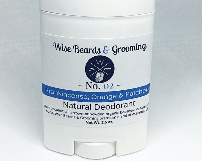 Natural Deodorant - Wise Beards and Grooming - Unisex Deodorant