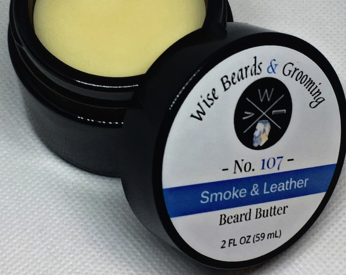 Vegan Beard Butter - Wise Beards and Grooming Beard Care Products - Beard Conditioner - Premium Grade - Natural - Beard Grooming