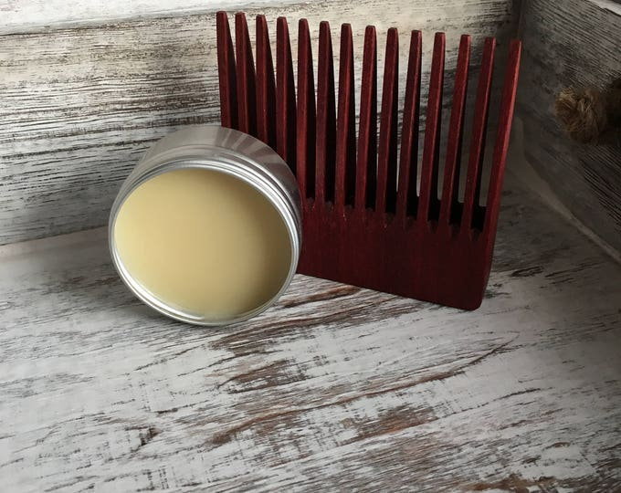 Beard Balm No. 77 - 1 ounce tin - Wise Beards and Grooming - Men's Beard and Care - Men's Grooming - Men's Care - Natural Products