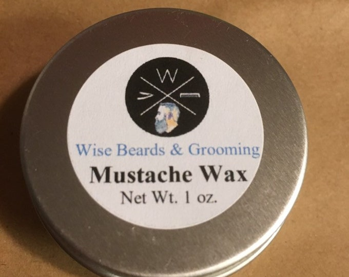 Wise Beards & Grooming Mustache Wax