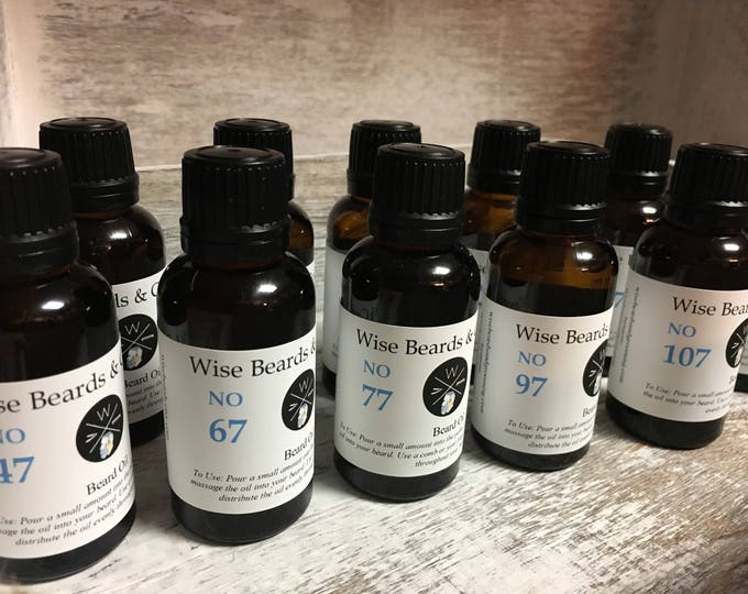 Unscented Beard Oil - Wise Beards & Grooming No. 00 Beard Oil