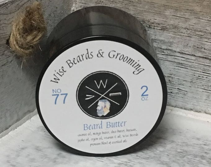 Beard Butter - Wise Beards and Grooming Beard Care Products - Beard Conditioner - Premium Grade - Natural - Beard Grooming