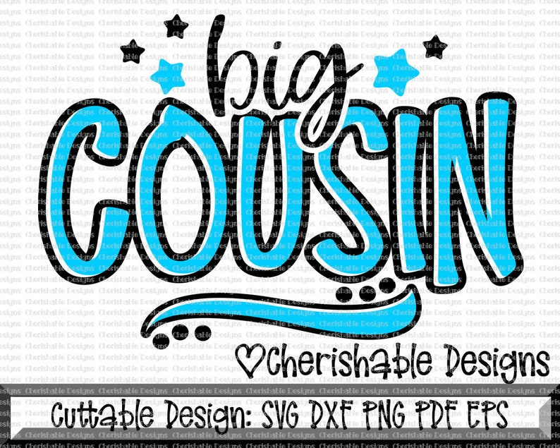 Cousin svg, Big Cousin svg, Family svg, new cousin svg, Cousin Family  Svg,Cousin Shirt Design, dxf pattern, svg, Cricut instant download