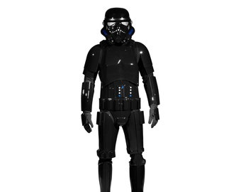 Star Wars Shadowtrooper Costume Armour Package with Accessories - Ready to Wear Original Shadowtrooper