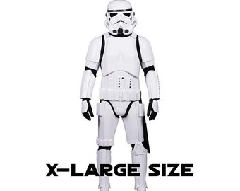 ON SALE NOW Star Wars Stormtrooper Costume Armour with Accessories and Ready to Wear - Original Replica - A New Hope - Xl Extended Size