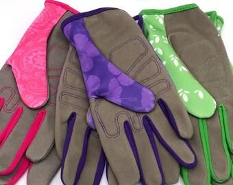 American girl garden gloves Gardener/'s gift. Custom garden gloves Garden lovers gift gloves
