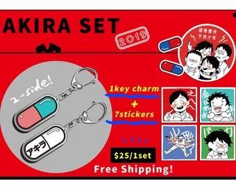 da47a5b5996 AKIRA keycharm+stickers Set