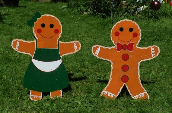 image 0 - Gingerbread Christmas Yard Decorations