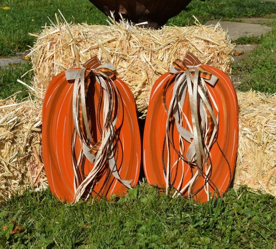 fall harvest decorations outdoors fall harvest thanksgiving halloween pumpkins yard stake etsy  fall harvest thanksgiving halloween