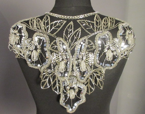 Original 20s 20s Twenties Beadcollar Collar