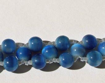 Blue Eyed Beads
