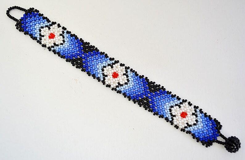 0071f7c3fe12 Pulsera Chaquira aborígenes hecho a mano por artesanos