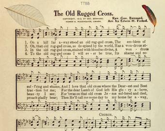 Old hymn sheet music | Etsy