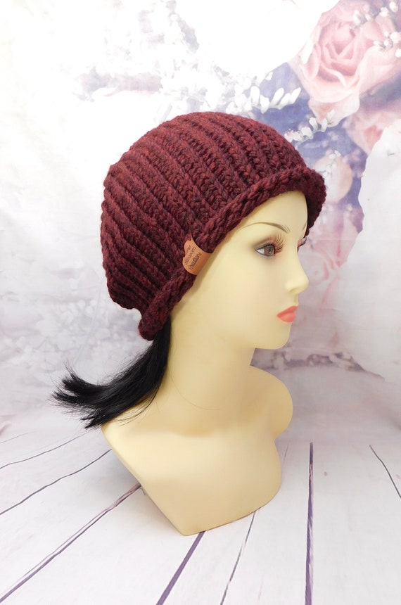 Red beanie | Red Hat| Winter Beanie|winter hat| Knit hat|Knit beanie|Ribbed beanie