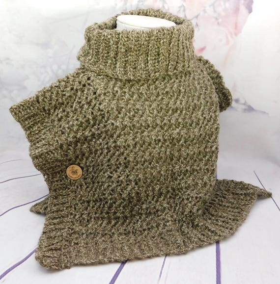 Beautiful brown textured poncho| Size for 2-5 year old| Poncho| Child clothes| Winter wear| Fall Wear