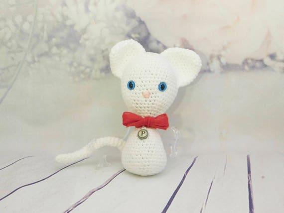 Pearl the kitty Cat  Kitty Doll  Toy  Amigurumi