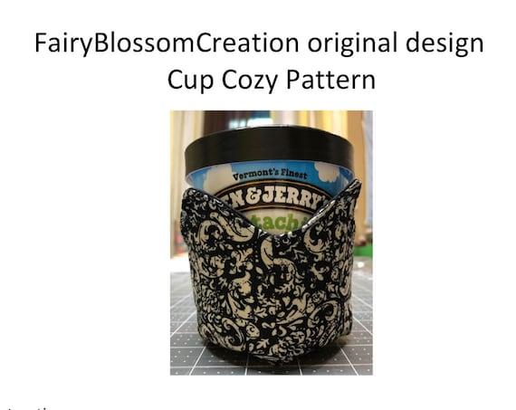 Cup cozy PDF  pattern