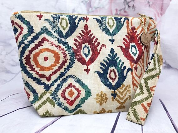 Plaid or western Travel bag| accessories bag| makeup bag| Travel bag