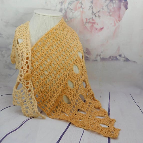 Crochet Shawl scarf| Shawl| Scarf| Wrap| light cover