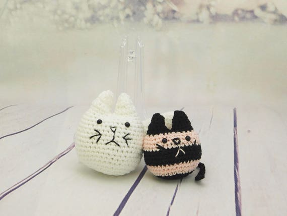 Toby & Penelope the fat cat toy| doll| Amigurumi toy| little toy| plushies