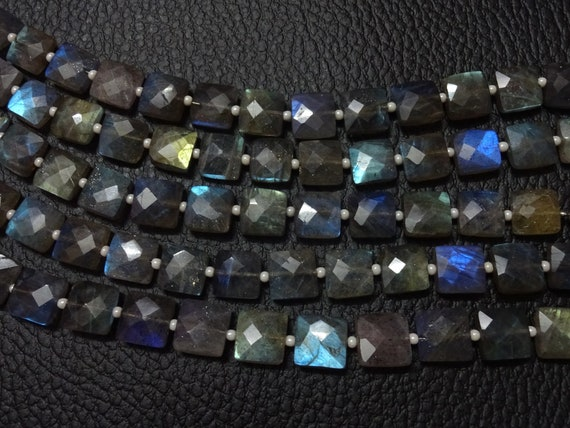 Faceted Quartz Beads AAA Quality  3x5-5x7MM Size Christmas Sale Labradorite BRIOLETTE Faceted Drops Shape 8 Inches
