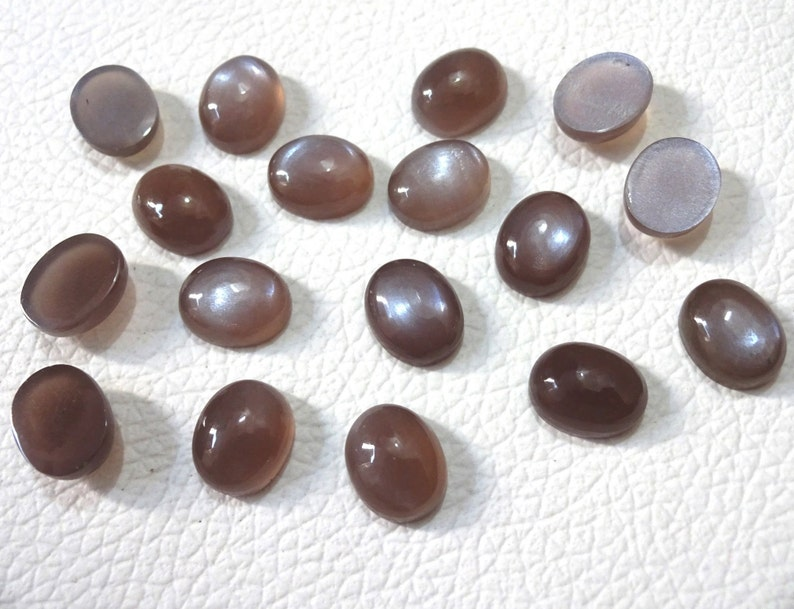 10 cabs  AAA Brown moonstone Oval shape cabochon 6X8 8X10 10X12 12X14 mm cabs smooth cabochon Superb gems for Jewellery Tiny Cab