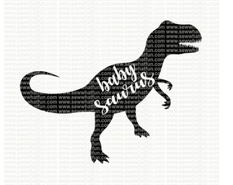 Brother Saurus Svg Cutting File Vinyl File Svg Dinosaur Etsy