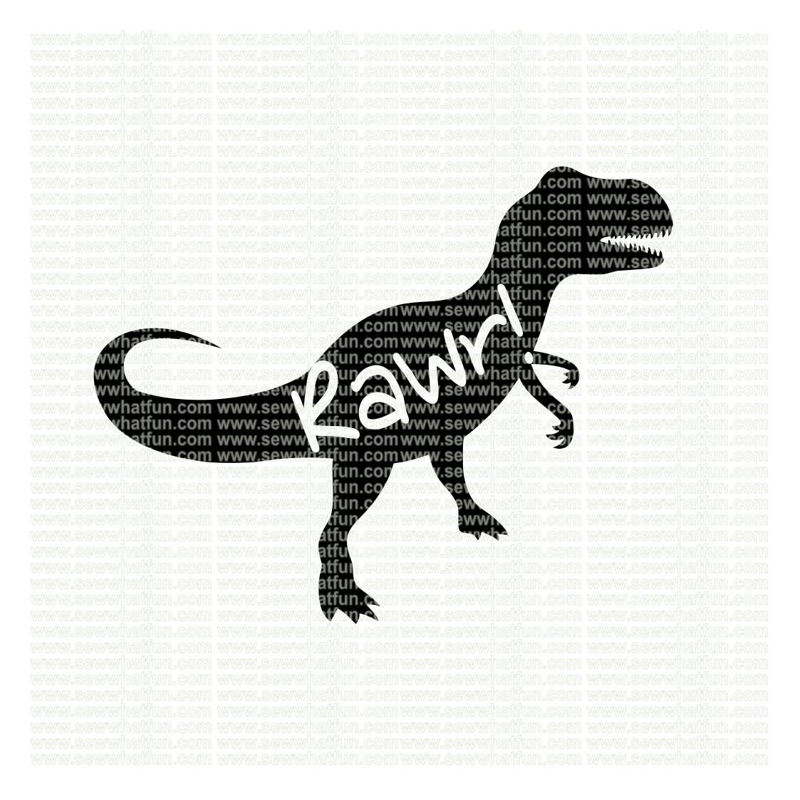 Download Dinosaur SVG cutting file vinyl file svg dinosaur svg | Etsy