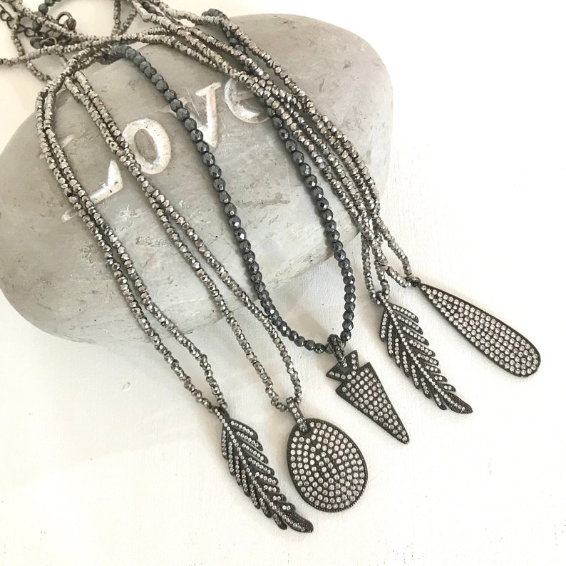 Small Beads collar necklace crystal beads teardrop collar charm collar necklace Silver charm collar necklace glam collar necklace