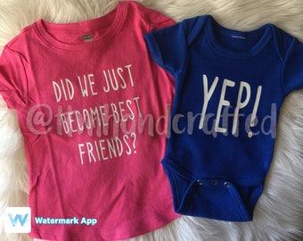 e9d46bd48 Set // matching kids set // newborn matching set // brother sister clothing  set
