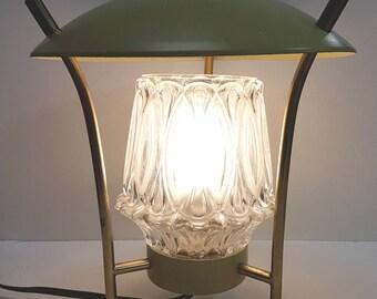 Mid century lanterna Italian style table lamp