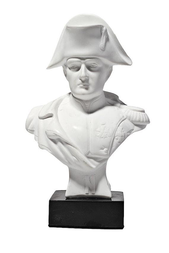 Libyan Revolutionary Colonel Muammar Gaddafi Marble Bust Statue Sculpture 12 cm 4.7