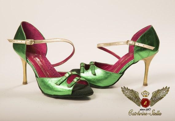 BELAID - Tango, Tango chaussures, chaussures, chaussures, chaussures de danse, anatomique, cuir, pour femmes, étape confiant 475aa4