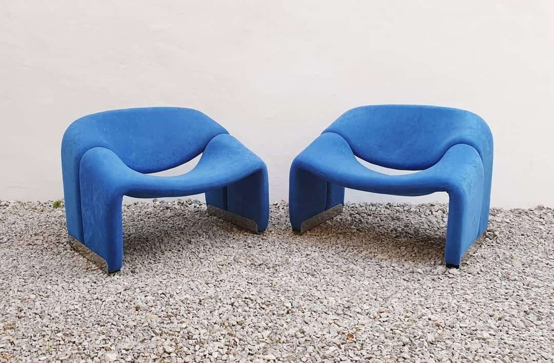 Phenomenal 1 Of 2 Mid Century Lounge Chair Groovy Chair F598 Designed By Pierre Paulin For Artifor Holland 70S Inzonedesignstudio Interior Chair Design Inzonedesignstudiocom