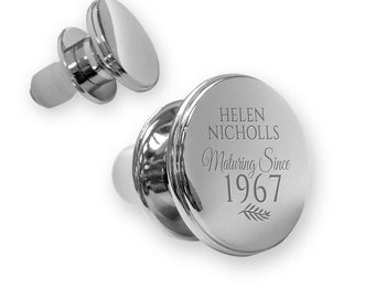 Personalised engraved 50TH BIRTHDAY deluxe wine bottle stopper gift idea, mirror polish, maturing since 1967 - MA50