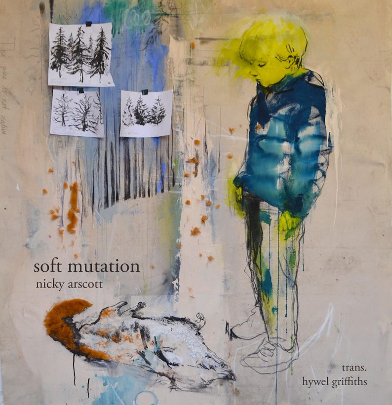 COMIC: Soft Mutation Poetry Comic by Nicky Arscott image 0