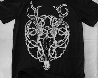 T-shirt - BLACK - Stags Death