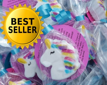 10 Mini Unicorn Bath Bombs Bomb Bombsbest Gifts Bathbombs Kidsunicorn Party Favor Birthday Supplies Decorations
